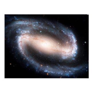 Andromeda majestuoso de la vía láctea de la impres tarjeta postal