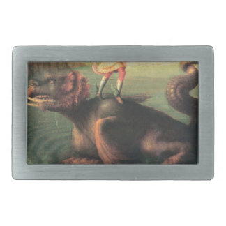 Andromeda saved by Perseus Rectangular Belt Buckle