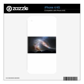 Andromeda sky iPhone 4 decals