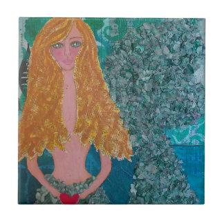 Andromeda the Mermaid (2).jpg Ceramic Tile