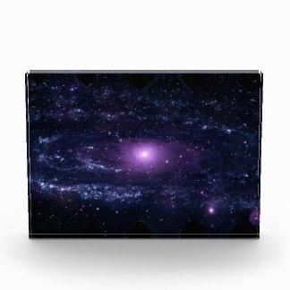 Andromeda Ultraviolet Acrylic Award