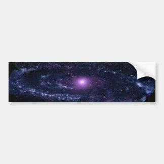 Andromeda Ultraviolet Bumper Sticker