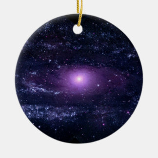 Andromeda Ultraviolet Ceramic Ornament