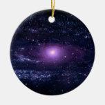 Andromeda Ultraviolet Christmas Ornament