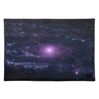 Andromeda Ultraviolet Cloth Placemat