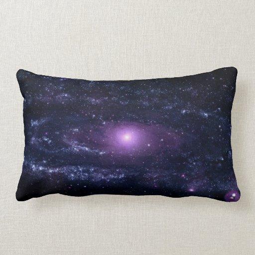 Andromeda Ultraviolet Throw Pillows