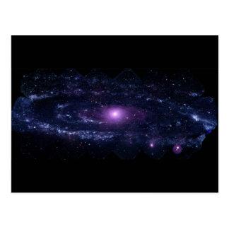 Andromeda Ultraviolet Postcard