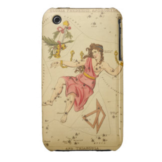 Andromeda - Vintage Astronomical Star Chart Image Case-Mate iPhone 3 Case