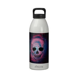 andromeda y cráneo botella de agua reutilizable