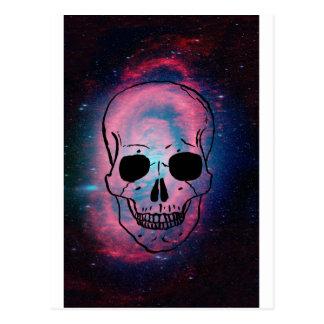 andromeda y cráneo postal