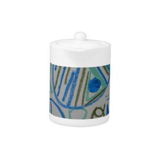 Andromedan Starseed Light Language Symbol Teapot