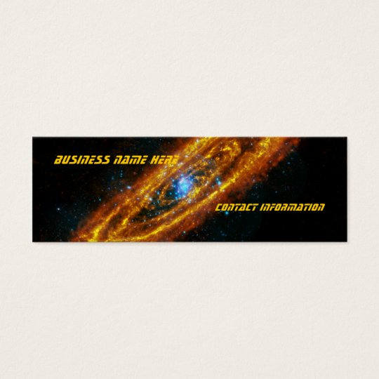 Andromeda's Stars Bookmark Business Cards