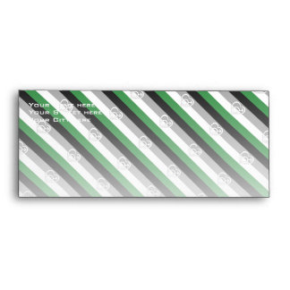 ANDROPHILIA FLAG PATTERN ENVELOPES