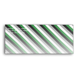 ANDROPHILIA FLAG PATTERN ENVELOPE