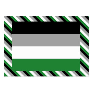 ANDROPHILIA FLAG PATTERN LARGE BUSINESS CARDS (Pack OF 100)