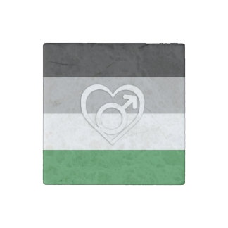 ANDROPHILIA PRIDE AND SYMBOL -.png Stone Magnet