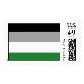 ANDROPHILIA PRIDE FLAG POSTAGE STAMPS