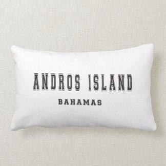 Andros Island Bahamas Lumbar Pillow