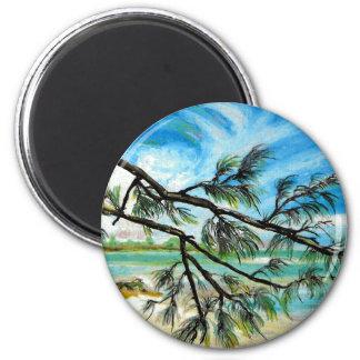 Andros Island Bahamas Magnet
