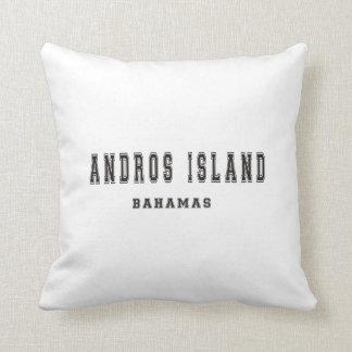 Andros Island Bahamas Throw Pillow