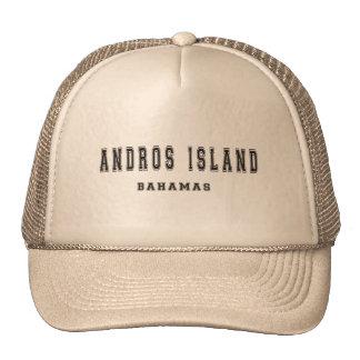 Andros Island Bahamas Trucker Hat