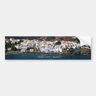 Andros town - Andros Bumper Sticker