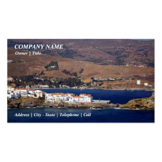 Andros town - Andros Business Cards