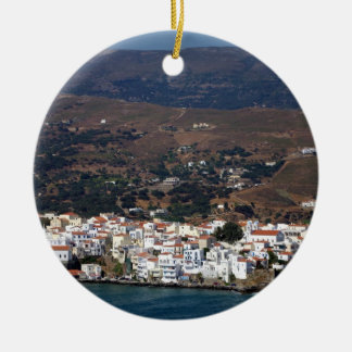 Andros town - Andros Ceramic Ornament