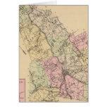 Androscoggin County, Maine Map Card