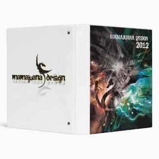 androsklyn 27, MAMAJUANA DESIGN, 2012 Vinyl Binder