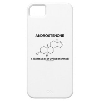 Androstenone A Closer Look At My Sweat Steroid iPhone SE/5/5s Case
