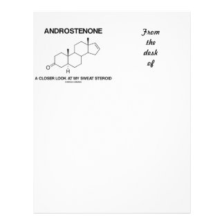 Androstenone A Closer Look At My Sweat Steroid Letterhead