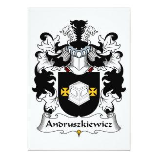 Andruszkiewicz Family Crest Card