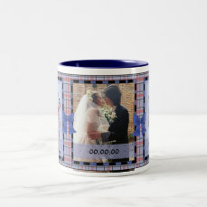 Andy & Annie, Save the Date Customizable Mug