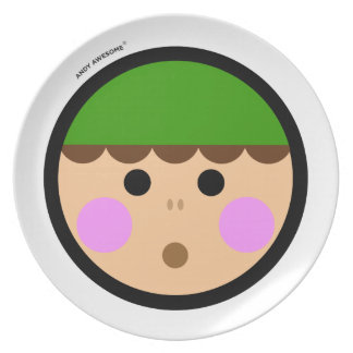 "Andy Awesome®  ""Christmas Elf"" plate"