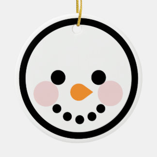 "Andy Awesome® Xmas Ornaments ""Snowman"""