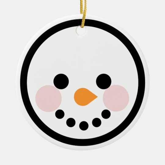 """Andy Awesome® Xmas Ornaments """"Snowman"""""""