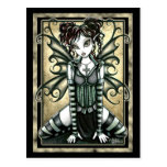 """Andy"" Cute Gothic Fairy Postcard"