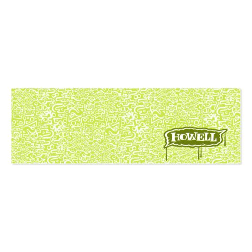 Andy Howell Profile Cards Double-Sided Mini Business Cards (Pack Of 20)