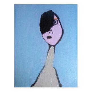 Andy   inspiró la postal del arte
