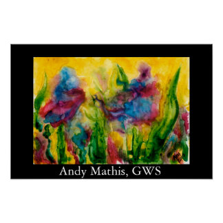Andy Mathis Nothing but Color Poster