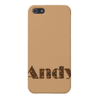 Andy Name-Branded Gift Item iPhone SE/5/5s Case