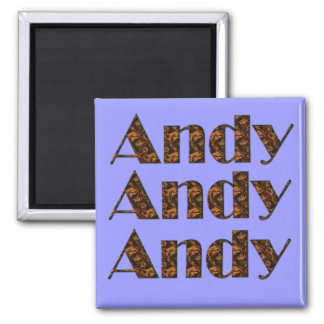 Andy Name-Branded Gift Item Magnet