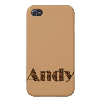 Andy Nombre-Calificó el artículo del regalo iPhone 4 Fundas