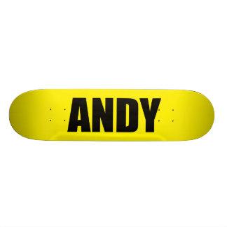 Andy Patineta Personalizada