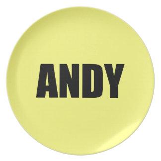 Andy Platos De Comidas