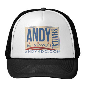 Andy Shallal for Mayor of DC Trucker Hat