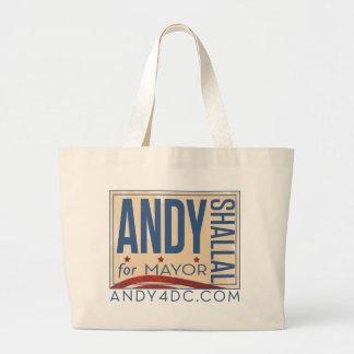 Andy Shallal para alcalde Bag Bolsas