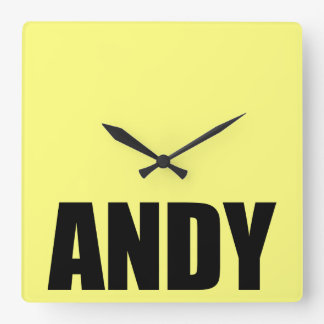Andy Square Wall Clock