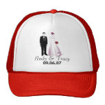 Andy & Tracy Wedding Trucker Hats